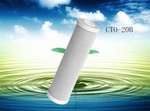 新しい2014の自在継手水フィルター作動したカーボンカートリッジ、20インチCTO20bのブロックカーボンフィルター沈殿物の浄水システム