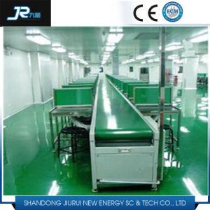 Повернув ПВХ ленты конвейера для производственной линии