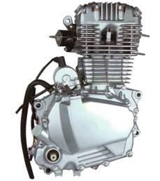 CB250 공기에 의하여 냉각되는 기관자전차 엔진