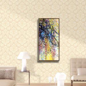 La tela di canapa di Morden stampa le maschere della pittura della tela di canapa incorniciate decorazione di arte della parete delle maschere