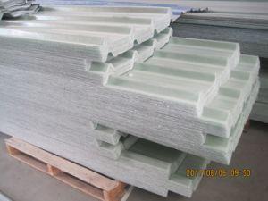 Plastique renforcé de fibre de verre ondulé la plaque de toiture, panneau de toit ondulé