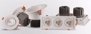 2*de alta potencia LED 30W de las luces de la hiel frijoles
