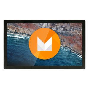 TV LCD de 32 polegadas quiosque de Publicidade em uma tela sensível ao toque