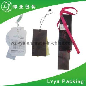 Billete de oscilación de Plástico Papel / etiqueta // Proveedor Hangtag Hang Tag