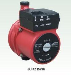 La circulaire de la pompe (JCRZ15/9G) avec la CE a approuvé