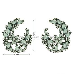 De nieuwe Juwelen van het Koper van de Stijl plateerden Buitensporige Oorringen (KE3269)