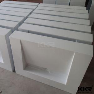 Kkr дешевые санитарных продовольственный настенные кронштейны твердой поверхности каменной ванной комнаты раковина радиатора процессора