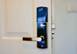 Europäische feuerfeste hohe Sicherheits-Digitalforever-Tür-Befestigungsteil-Wohnverschluß