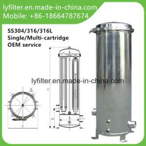 Система обратного осмоса картридж из нержавеющей стали для корпуса фильтра воды