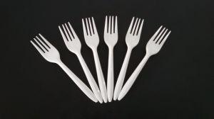 Forcella di plastica bianca dei pp per articoli per la tavola