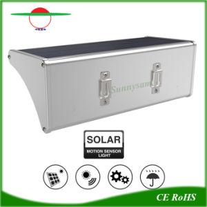 アークのアルミ合金48 LEDの動きセンサーの太陽庭ライト