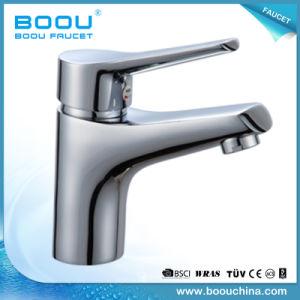 Boouの真鍮の物質的な単一の穴の洗面器のミキサー