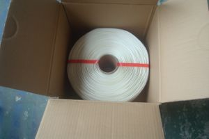 Tela de poliéster de alta Qaulity flejes de cable en China