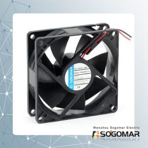 Вытяжной вентилятор 80X80X25m 12/24 V DC втулку подшипника с высоким качеством