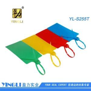Grote Plastic Verbinding 255cm van het Etiket met het Blad van het Sluiten van het Metaal