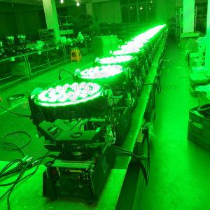 段階DMXのズームレンズ36X10W RGBW 4in1 DJの移動ヘッドLED