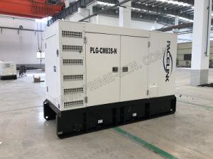75kVA Cummins ha alimentato il gruppo elettrogeno diesel insonorizzato con Ce/ISO