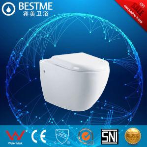 Монтироваться на стену влаги керамический туалет туалет с потайной бачки (6005)