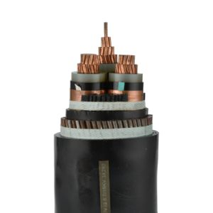 cavo elettrico isolato XLPE corazzato del collegare d'acciaio del nastro 0.6/1kv