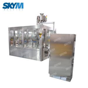 Fábrica de água mineral a linha de engarrafamento de água potável da máquina de embalagem de Enchimento