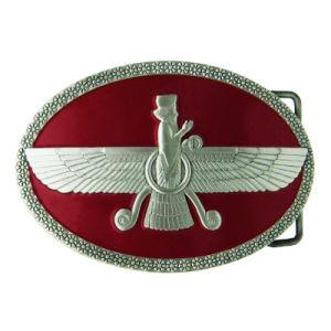 Fördernder nach Maß Rats-weiche Decklack-Metallgürtelschnalle N.O.-Illionois für Dekoration (012)