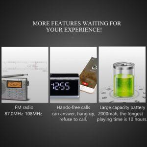 Altavoces inalámbricos Bluetooth V4.0 Pantalla FM Radio Reloj Despertador
