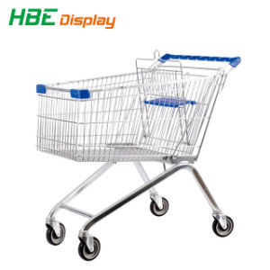 Großhandelssupermarkt-Supermarkt-Handeinkaufen-Laufkatze für ältere Personen