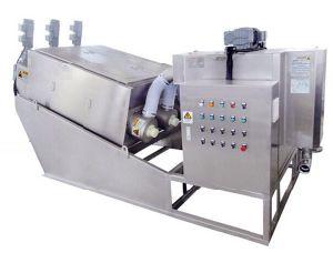 Vis de Tpdl Appuyez sur la machine de déshydratation des boues