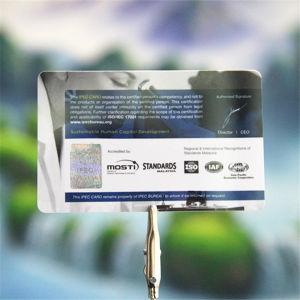 La parte superior de PVC de proveedor extranjero UHF RFID H3 Tarjeta de Identificación inteligente