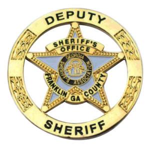 BSCI freies Beispielgold, das wir Offizier-Gebrauch-Metalldecklack-Polizei Badge für Dekoration (221)