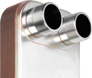高性能のコンデンサーのためのろう付けされた版の熱交換器