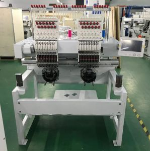 2 de hoofden Geautomatiseerde Prijs China van de Machine van het Borduurwerk