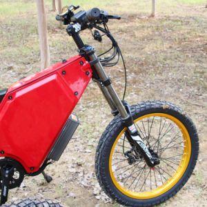 72V 10000W potente motocicleta eléctrica bicicleta verde