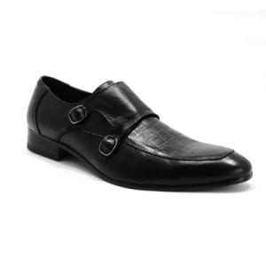 Diseño clásico italiano mayorista oficial de la zapata de vestimenta casual hombres