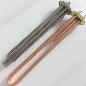 高品質380V 9kw 300mm温度センサが付いているCopper/SS304水発熱体
