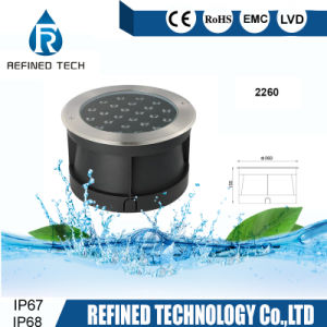 Il LED ha messo la lampada subacquea dell'indicatore luminoso del raggruppamento messa LED dell'indicatore luminoso