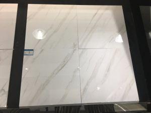 De verglaasde Gelukkige Imitatie Marmeren Tegel van het Porselein van de Vloer 12X12