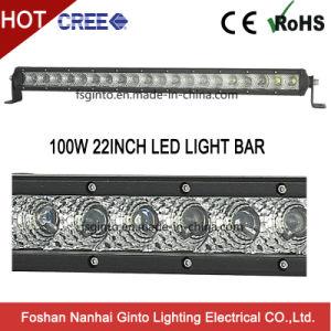100W Slanke LEIDENE van uitstekende kwaliteit Lichte Staaf voor Offroad Jeep SUV 12V/24V
