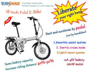 Multifunções a dobragem de poupança de energia E-bike torna a sua viagem mais feliz