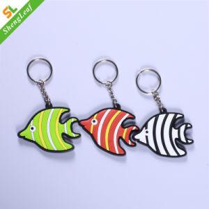 شريط ثلاثة لون سمكة [كي شين] مع معدن حل