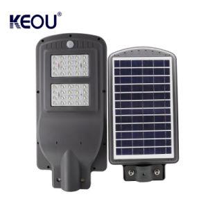 IP66 40 Вт литой алюминиевый корпус лампы в Саду IP65 40W все в одном интегрированном солнечного освещения улиц