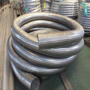 Tubo di scappamento flessibile dell'acciaio inossidabile
