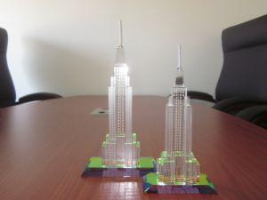 Crystal Dubai Modelo de la construcción de las embarcaciones turísticas para regalo