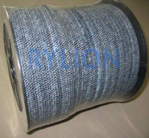 Fibra carbonizada com embalagem de PTFE