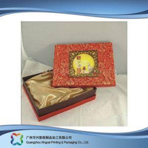 De stijf Gift van de Cake van de Maan van het Document Verpakkend Verpakkend/Voedsel/de Kosmetische Levering voor doorverkoop van het Vakje (xC-hbf-006)