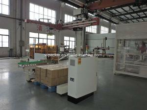 Automatische ServoPalletizer voor Lijn van de Verpakking van de Drank wj-SMD-8