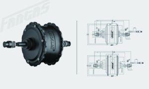 Fantas BMX mini fetter Reifen-elektrisches Fahrrad des Schiffsrumpf-36V250W 20inches