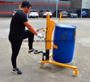 中国の350kg容量油圧オイルドラムトラックの製造者