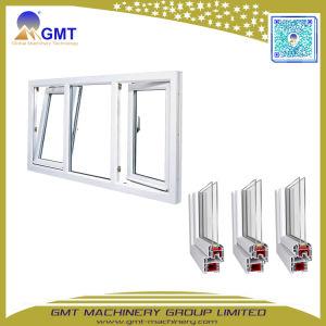 Espulsione di plastica di profilo del blocco per grafici di portello della finestra del PVC UPVC di serie di Yf che fa la riga della macchina