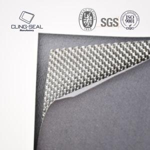 Sin asbesto reforzada con lengüetas compuesto de hojas de la junta de escape de 1,6 mm